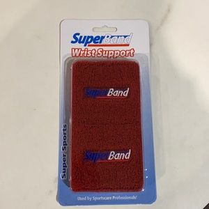Sports wrist bands -- used by sportscare professionals - new in package - 2/pack